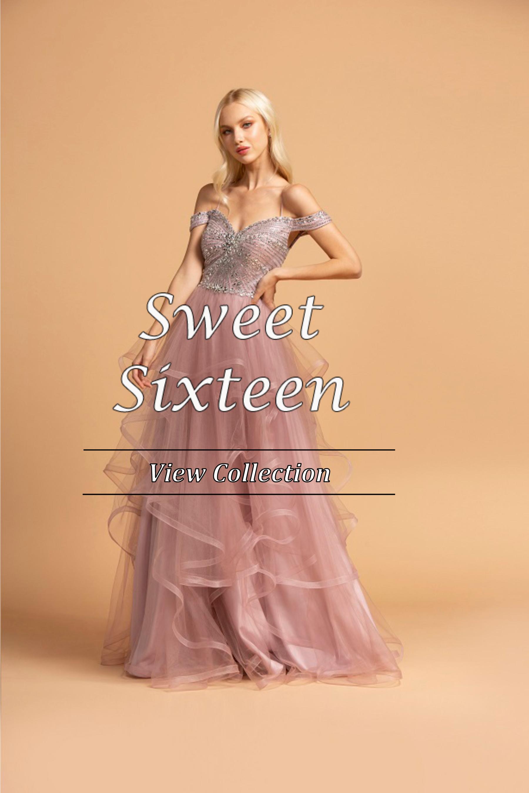 NJ Sweet 16 Dresses