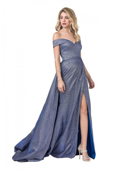 Skirt Caped Long Gown