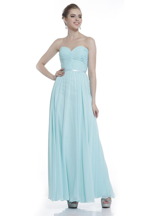 Long Sweetheart Gown