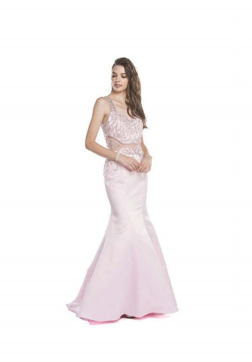 Beaded Trumpet Gown