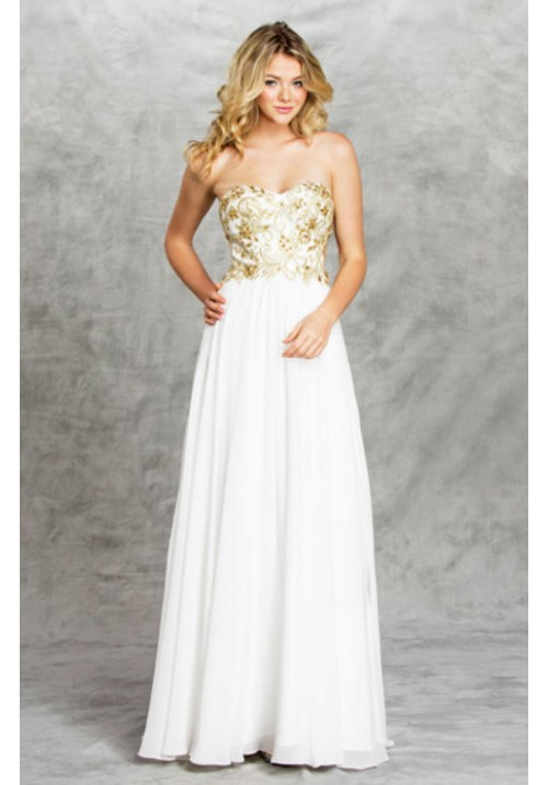 Sweetheart Long Gown