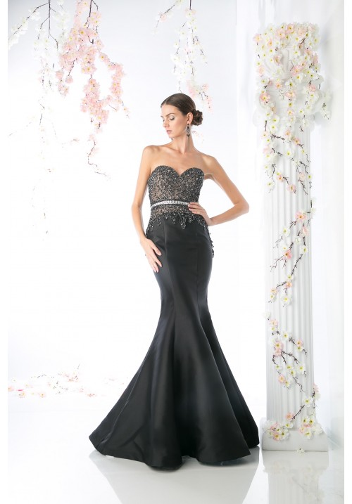 Sweetheart Long Trumpet Gown