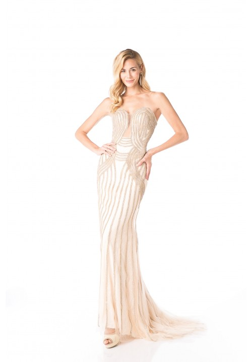 Sweetheart Sheath Gown