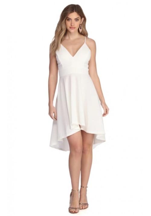夏季白色连衣裙