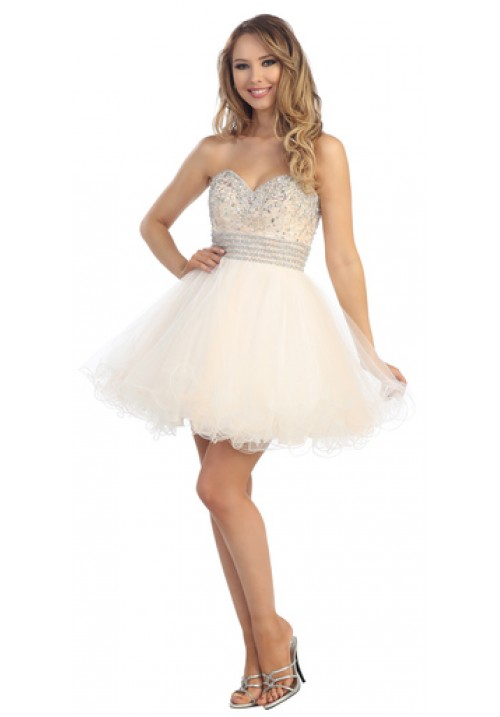 Sweetheart Short Gown