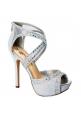 Open-toe High Heel Dress Shoes