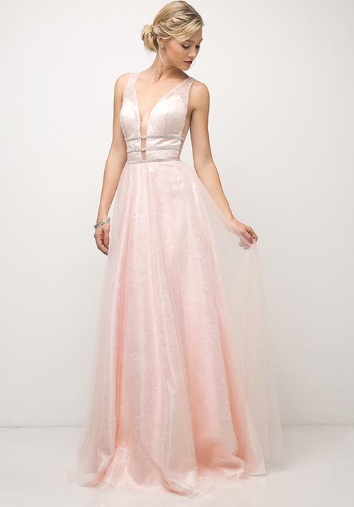 Dazzled Waist Gown